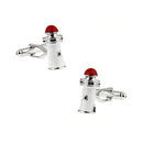 Lighthouse Cufflinks - 3D, Red - SummerTies