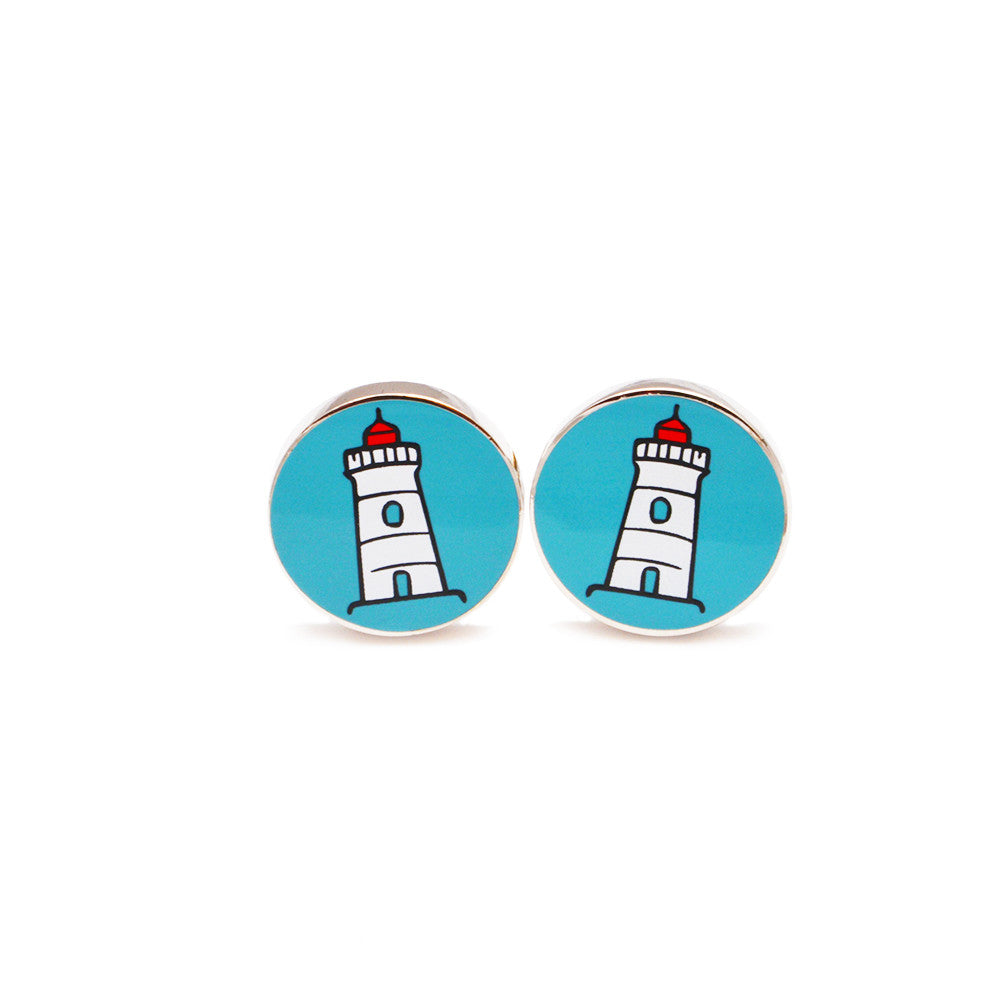 Lighthouse Cufflinks - SummerTies