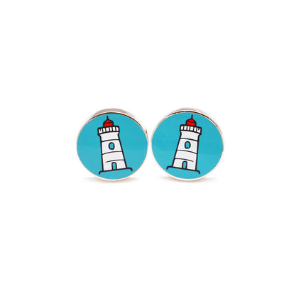 Lighthouse Cufflinks - SummerTies  - 2