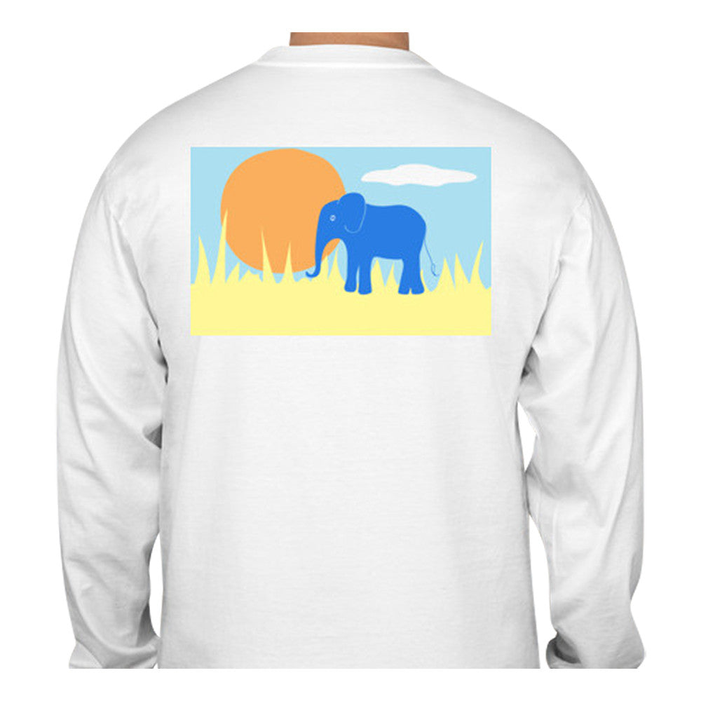 Elephant T-Shirt - Long Sleeve - SummerTies