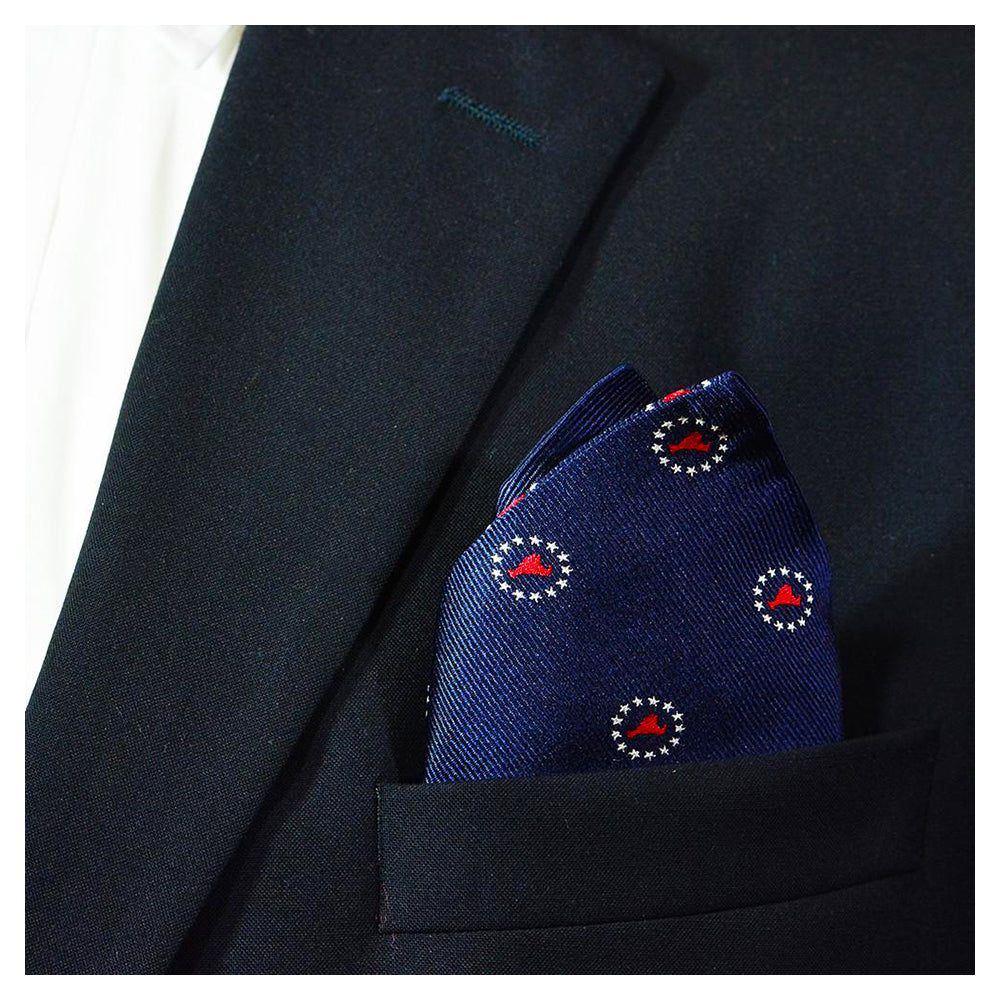 Martha's Vineyard 4th of July Pocket Square - SummerTies
