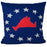 "Martha's Vineyard 4th of July Pillow 16"" x 16"" - Faux Suede"