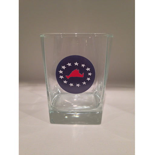 Martha's Vineyard 4th of July 13oz Old Fashioned Glass - SummerTies