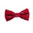 Marlin Bow Tie - Red, Woven Silk, Pre-Tied for Kids - SummerTies
