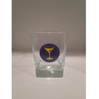 Martini 13oz Old Fashioned Glass - SummerTies