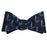 Mermaid Bow Tie - Navy, Woven Silk