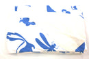 Multi Creature Fleece Blanket - Blue on White - SummerTies