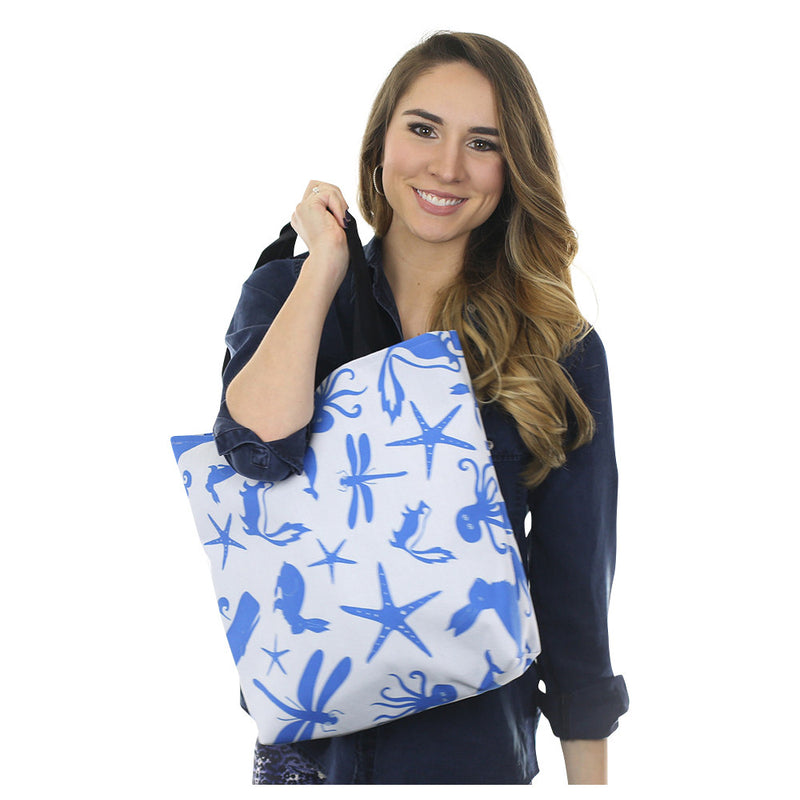 Multi Creature Tote Bag - SummerTies