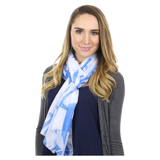Multi Creature Long Scarf - SummerTies