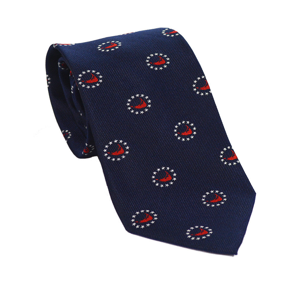 Nantucket 4th of July Necktie - Woven Silk - SummerTies