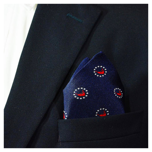 Nantucket 4th of July Pocket Square - SummerTies