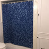 Anchor Dream Shower Curtain - Navy - SummerTies  - 4