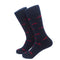 Newport Bridge Socks - Men's Mid Calf - Navy - WHOLESALE - SummerTies
