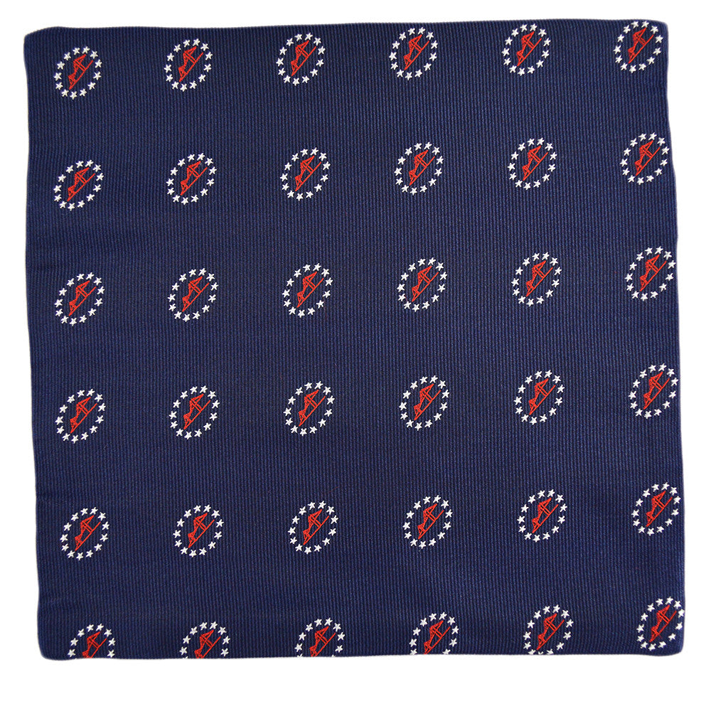 Newport Bridge 4th of July Pocket Square - SummerTies