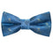 Octopus Bow Tie - Blue, Woven Silk, Pre-Tied for Kids - SummerTies