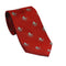 Octopus Necktie - Red, Woven Silk - SummerTies