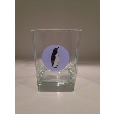 Penguin 13oz Old Fashioned Glass - SummerTies