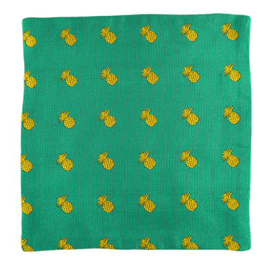 Pineapple Pocket Square - SummerTies