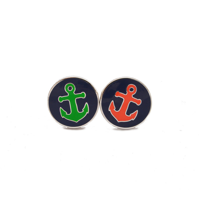 Anchor Cufflinks - Port & Starboard - SummerTies