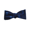 Salve Regina University Bow Tie - SR Navy, Woven Silk