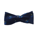 Salve Regina University Bow Tie - Seahawk Navy, Woven Silk - SummerTies