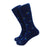 Salve Regina University Socks - Seahawk Logo - Men's Mid Calf