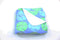 Sand Dollar Fleece Blanket - Aqua - SummerTies