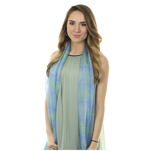 Sand Dollar Long Scarf - SummerTies