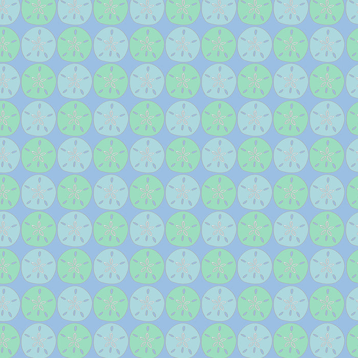 Sand Dollar Shower Curtain - SummerTies