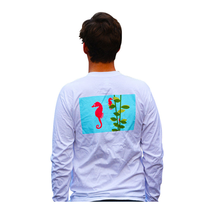 Seahorse T-Shirt - Long Sleeve - SummerTies