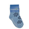 Ship Wheel Socks - Toddler Crew Sock - Navy on Blue