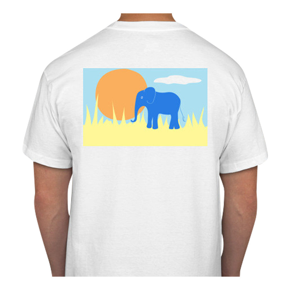 Elephant T-Shirt - Short Sleeve - SummerTies