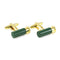 Shutgun Shell Cufflinks - 3D, Green - SummerTies