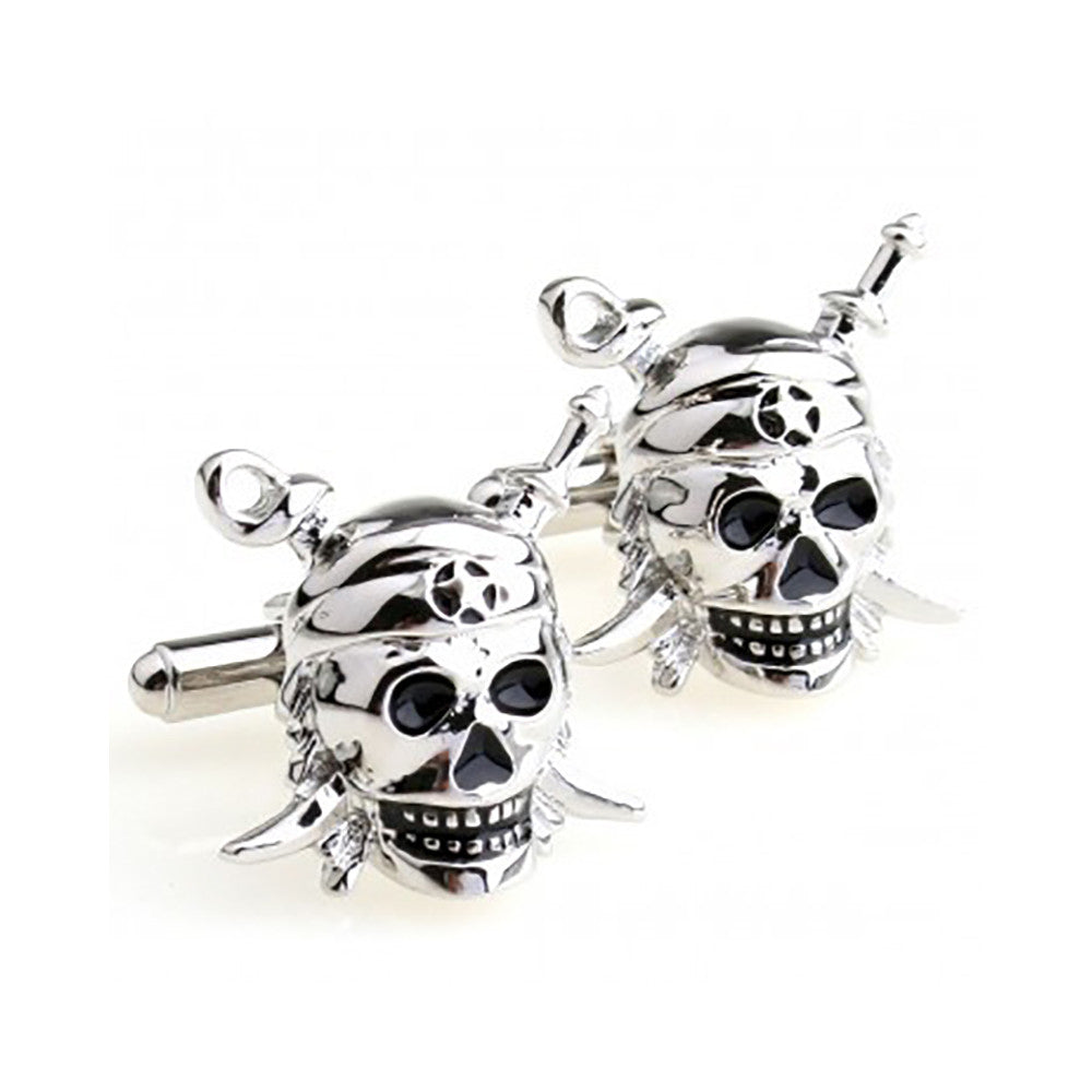 Skull Cufflinks - 3D - SummerTies