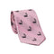 Skunk Necktie - Light Pink, Woven Silk - SummerTies