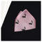 Skunk Pocket Square - Light Pink, Woven Silk - SummerTies