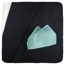 Solid Color Pocket Square - Light Green, Woven Silk - SummerTies