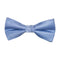 Solid Color Bow Tie - Light Blue, Woven Silk, Kids Pre-Tied - SummerTies
