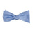 Solid Color Bow Tie - Light Blue, Woven Silk, Adult - SummerTies