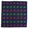 Sperm Whale Pocket Square - Port & Starboard - SummerTies  - 2