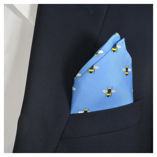 Bee Pocket Square - SummerTies