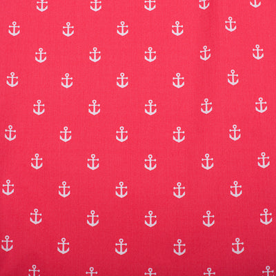 Anchor PJ Bottoms - Port (Coral Red) - SummerTies