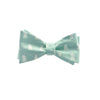Bear-Lion Bow Tie - Green, Printed Silk - SummerTies