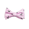 Skunk Bow Tie - Pink, Printed - SummerTies
