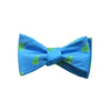 Frog Bow Tie - Blue - SummerTies