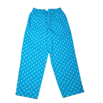Frog PJ Bottoms - Blue - SummerTies