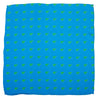 Frog Pocket Square - Blue - SummerTies