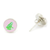 Frog Earrings - Pink - SummerTies  - 1