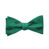 Alligator Bow Tie - Green - SummerTies