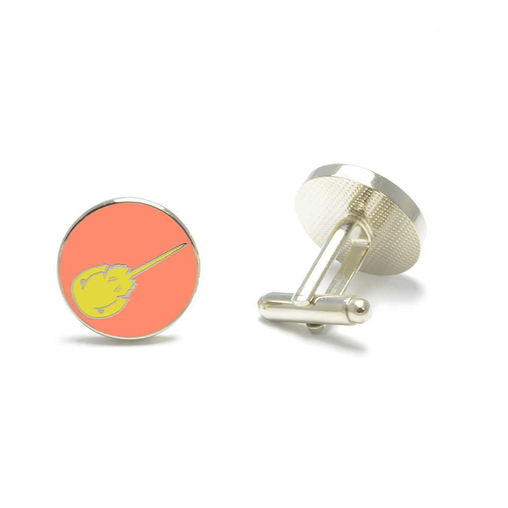 Horseshoe Crab Cufflinks - SummerTies